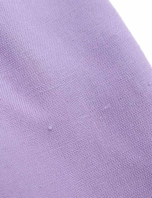 クリスチャンディオール Christian Dior スカート 薄紫 ライトパープル ボトムス ひざ丈 タイト 無地 M レーヨン リネン レディース