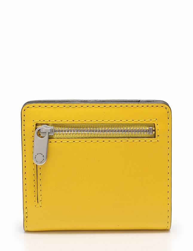 new style b273d aa88a マークバイマークジェイコブス MARC by MARC JACOBS 財布 二つ折り 黄色 イエロー 小物 レザー M0007313 レディース