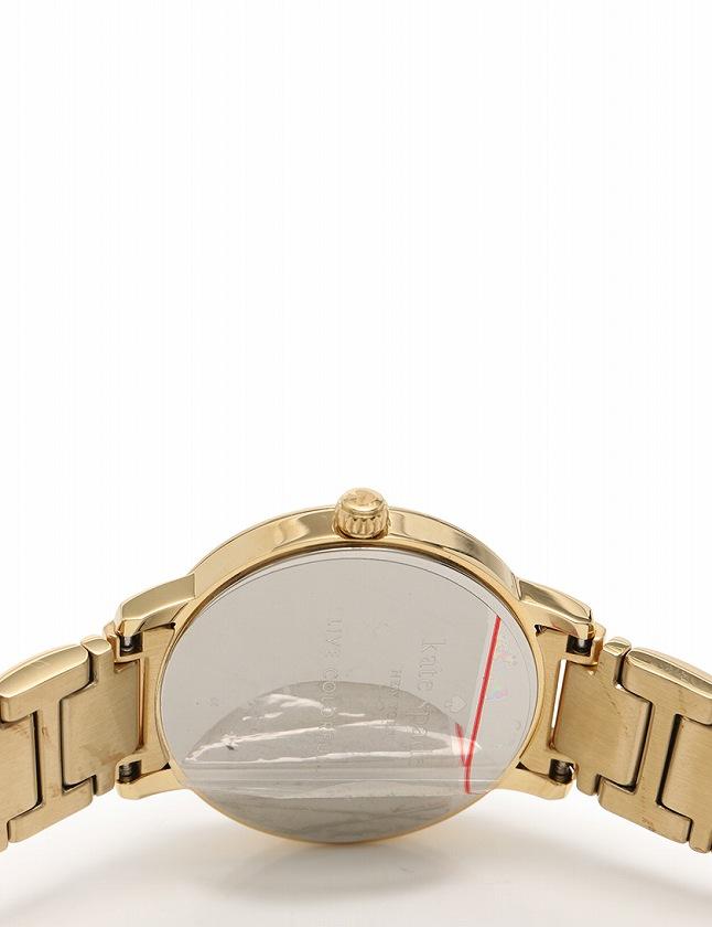 ケイトスペード KATE SPADE 腕時計 ゴールド 白 クオーツ SS KSWB0789 箱 説明書付き レディース