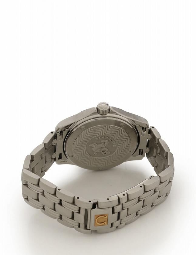 ffbbb818080c ... オメガ OMEGA 腕時計 シーマスター シルバー ブルー文字盤 自動巻き SS 2501.81 メンズ ...