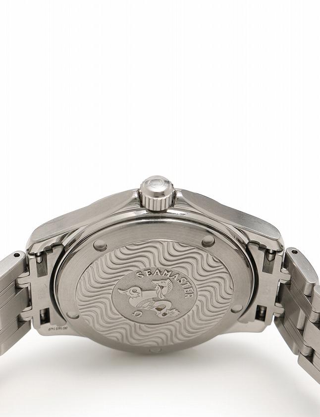 f1a0508088c7 オメガ OMEGA 腕時計 シーマスター シルバー ブルー文字盤 自動巻き SS 2501.81 メンズ ...