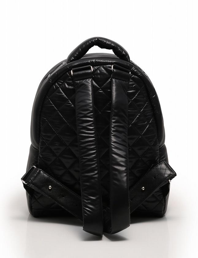 290f45ea7453 ... シャネル CHANEL リュック バックパック コココクーン 黒 ブラック ナイロン レザー 保存袋 ギャラ付き レディース ...