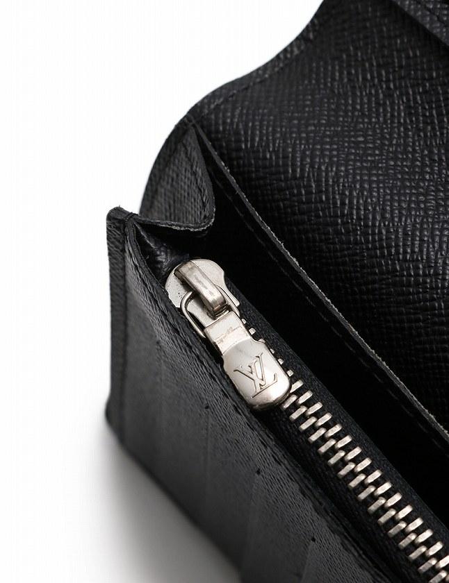 brand new 7a60e 6a1dd ルイヴィトン LOUIS VUITTON 長財布 二つ折り ポルトフォイユブラザ ダミエ グラフィット クリストファーネメス 黒 ブラック 白 小物  PVC レザー N16211 メンズ