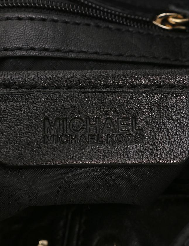 マイケルマイケルコース Michael michael kors ハンドバッグ ショルダーバッグ 黒 ブラック レザー スタッズ 2WAY レディース