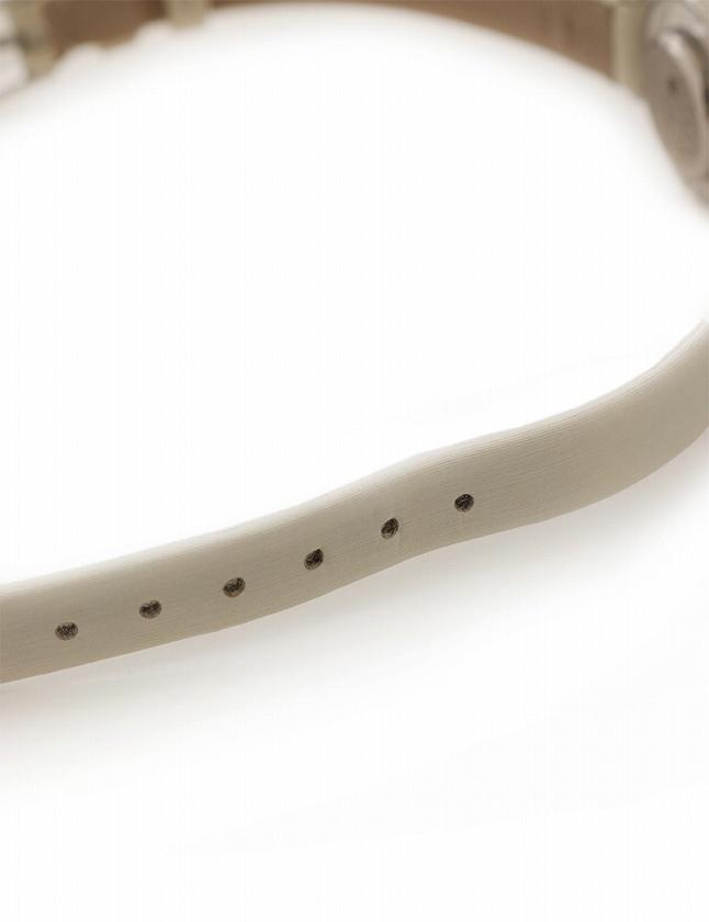 4e6ea72cb7 ... ショパール chopard 腕時計 ハッピーダイヤモンド ホワイトゴールド 白 クオーツ K18WG 9Pダイヤ レザー 20/4780