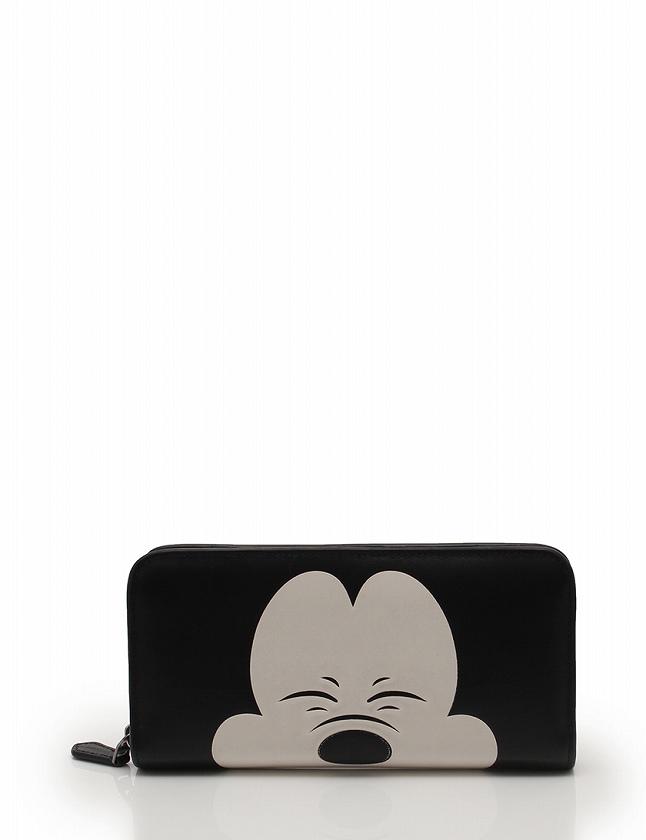 a25a6230a250 コーチ COACH 長財布 ラウンドファスナー ミッキー 黒 ブラック 白 小物 レザー Disneyコラボ 54000 レディース