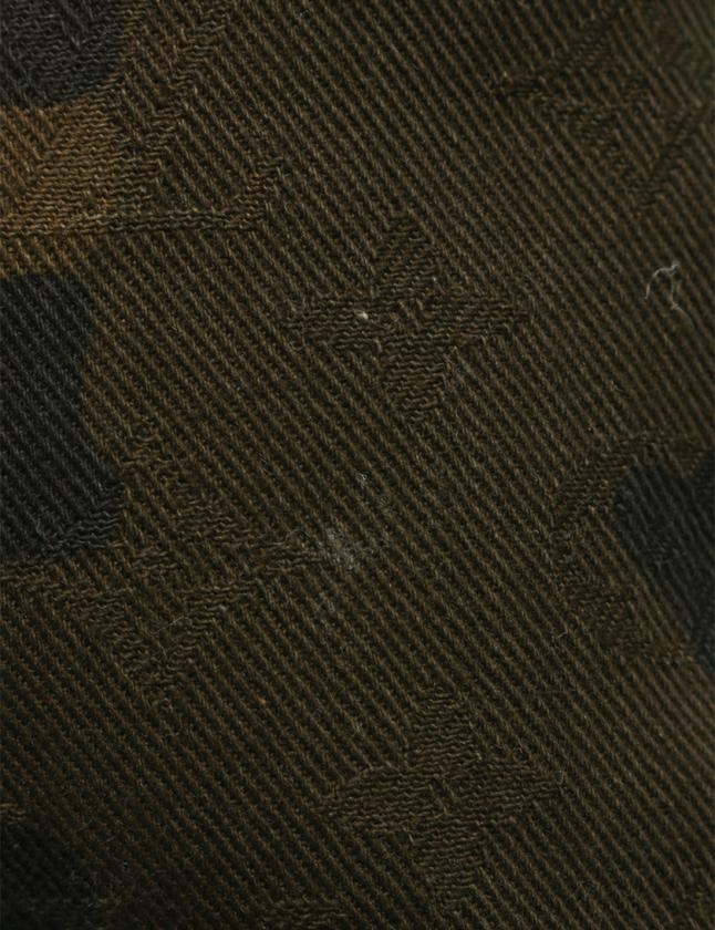 ルイヴィトン LOUIS VUITTON Supreme シュプリーム コラボ バックパック リュック アポロ カモフラージュ カーキ M44200 キャンバス レザー メンズ