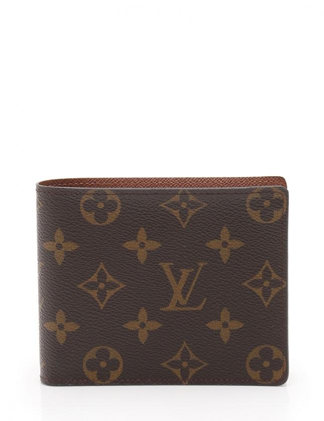 46eb9c20dc11 ルイヴィトン LOUIS VUITTON 財布 二つ折り ポルトフォイユ フロリン モノグラム 茶 小物 PVC レザー M60026 レディース