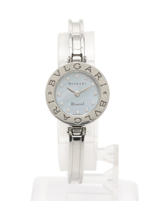 quality design 2bc57 e701b ブルガリ BVLGARI 腕時計 クオーツ ブルガリブルガリ シルバー SS レディース