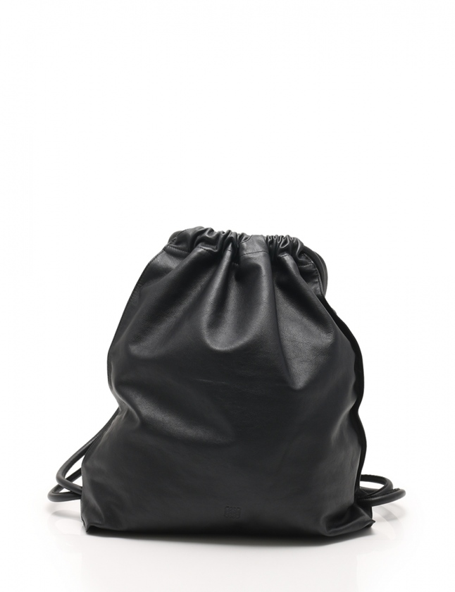 18ad06974d8c ロエベ LOEWE バックパック リュック ナップザック Yago Backpack ヤゴ 黒 304.10.J94 カーフレザー レディース