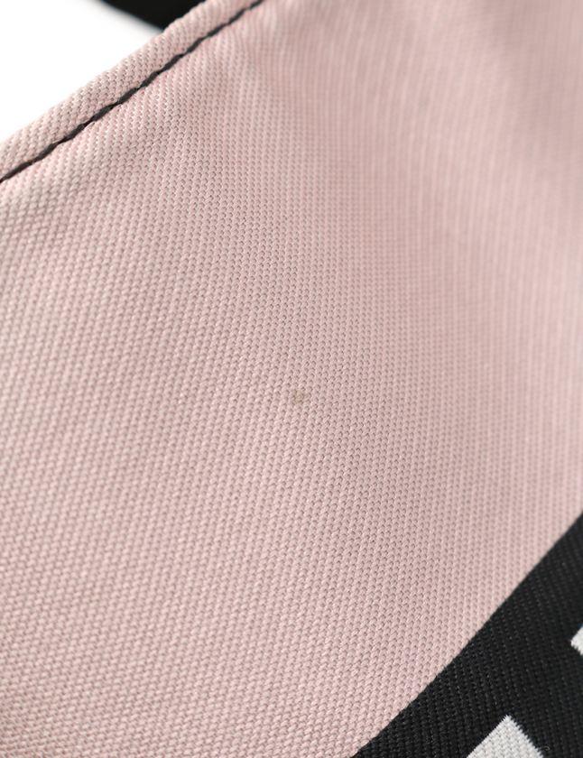 8124b414f76a ... ロンシャン LONGCHAMP チェーンショルダーバッグ トートバッグ 白 ピンク 黄 黒 1599 613 133 ナイロン レザー