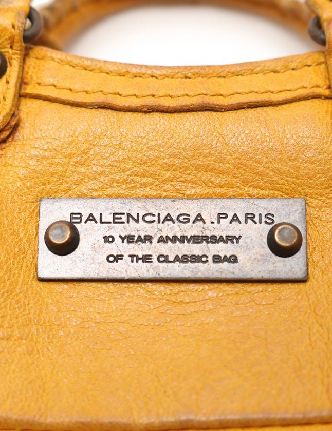 brand new 1c046 b26f7 バレンシアガ BALENCIAGA コインケース 小銭入れ ミニファースト 黄 小物 レザー 253199 キーリング付き レディース