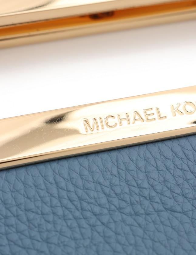 edaa6cb25827 ... マイケルマイケルコース Michael michael kors ハンドバッグ ショルダーバッグ クラッチバッグ 水色 35T7GBKC2L レザー  2WAY レディース ...