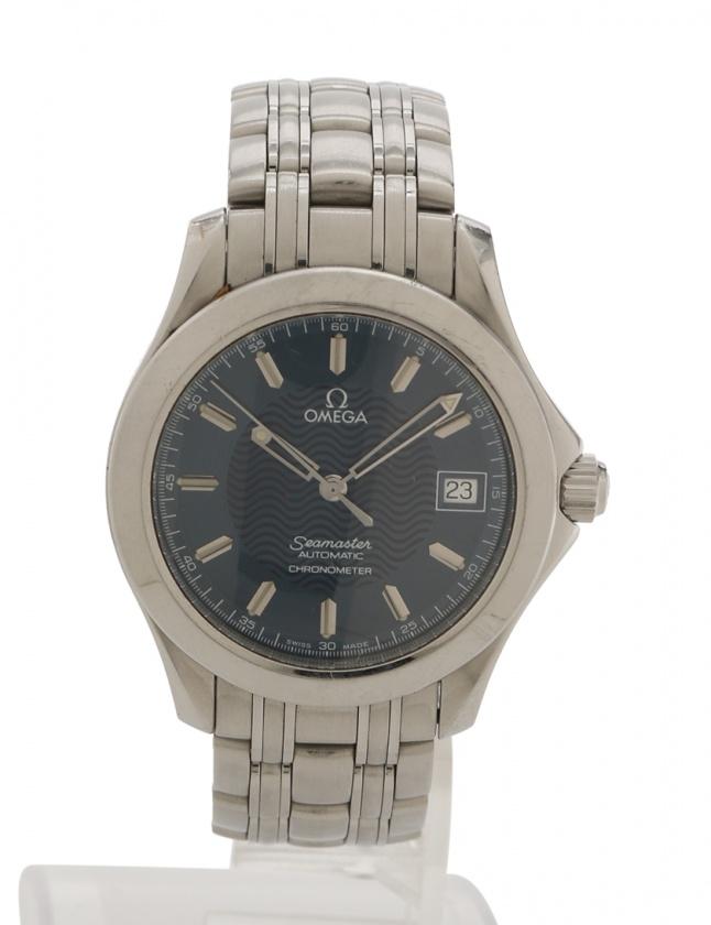 921c6e5c4066 オメガ OMEGA 腕時計 シーマスター 自動巻き シルバー 2501.81 SS SS ガラス ブルー文字盤 メンズ