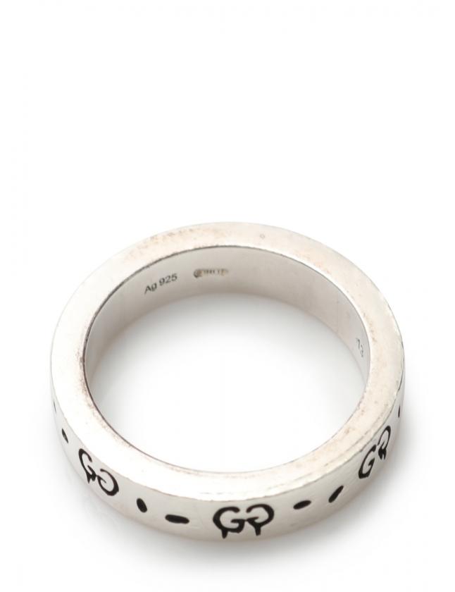 6166388cfdf2 ... グッチ GUCCI 指輪 ゴーストリング シルバー アクセサリー SV925 メンズ レディース