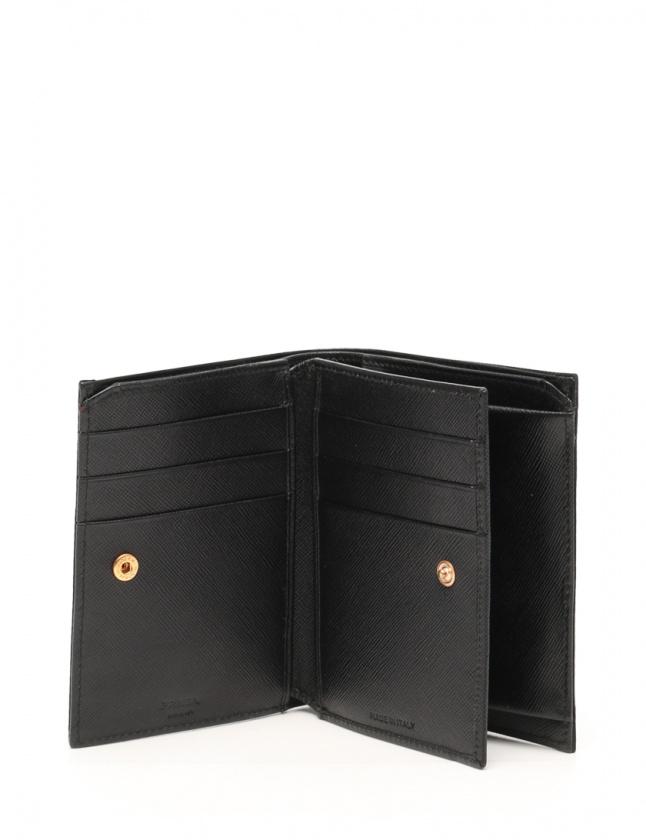 faf8c29a82bd プラダ PRADA 二つ折り財布 黒 小物 ナイロン レディース 114 ...