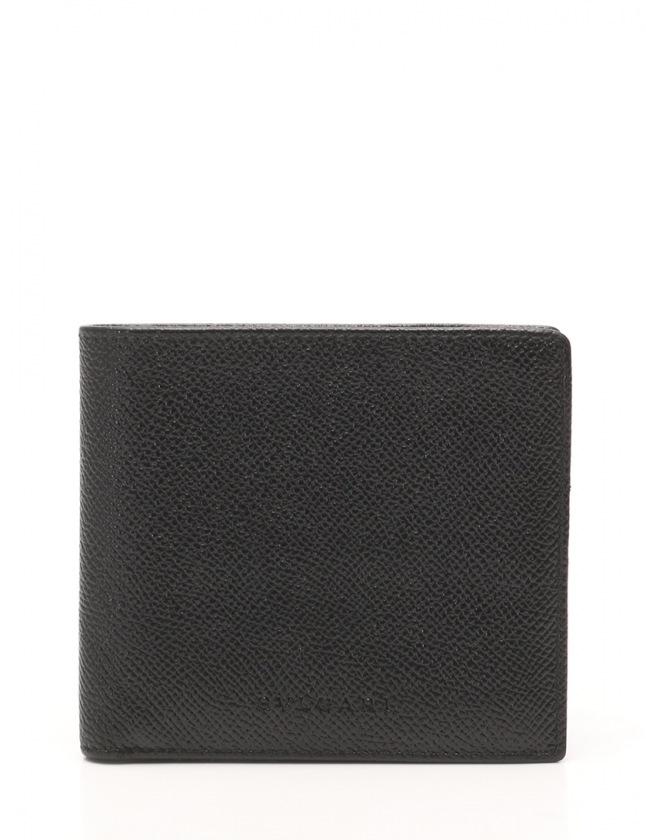 pretty nice b686e d2ad2 ブルガリ BVLGARI 二つ折り財布 札入れ 黒 小物 レザー メンズ