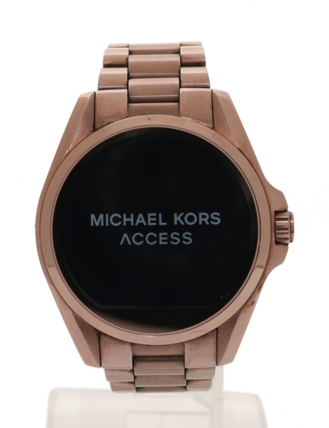 afb7fec5db98 マイケルコース MICHAEL KORS 腕時計 ブラッドジョー セーブル スマートウォッチ レディース ピンクゴールド SS デジタル文字盤  レディース