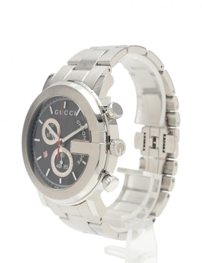31e4a3e6d809 グッチ GUCCI メンズ 腕時計 クオーツ Gフェイス シルバー 101M SS メンズ ...