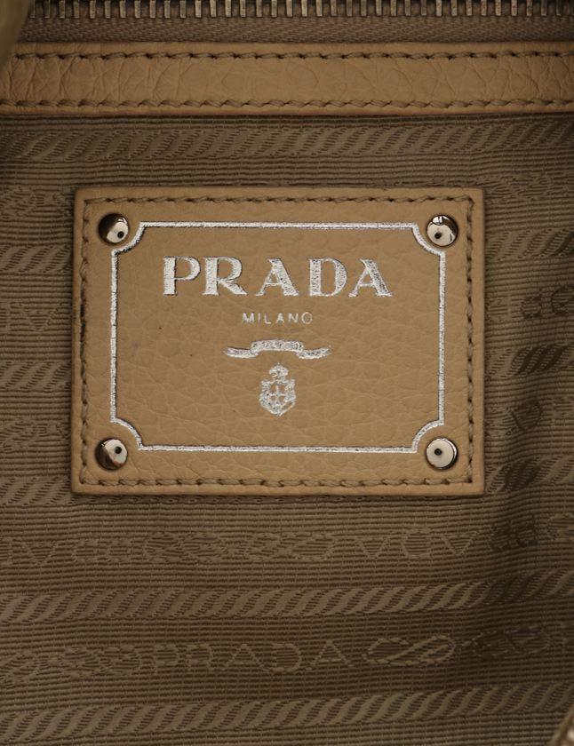 プラダ PRADA ワンショルダーバッグ アイボリー レザー レディース