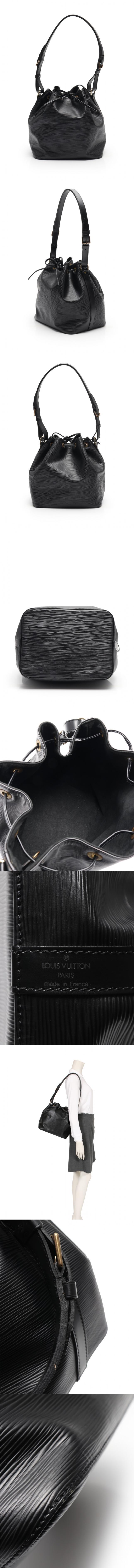 ショルダーバッグ プチノエ エピ ノワール M44102 レザー
