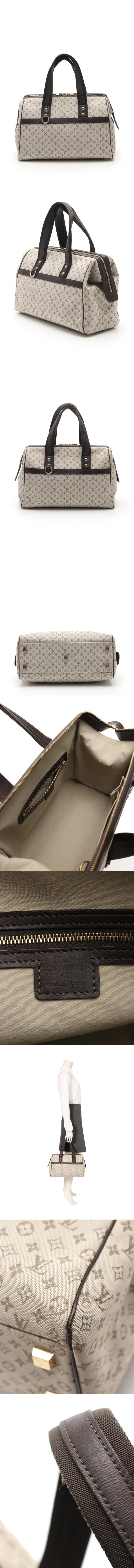 ハンドバッグ ジョセフィーヌGM モノグラムミニ カーキ M92310 キャンバス レザー