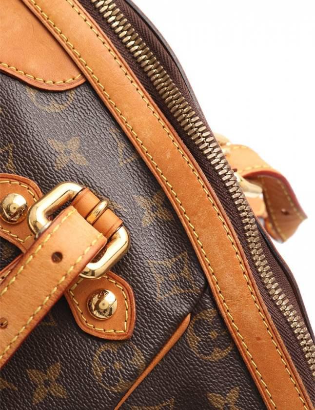ルイヴィトン LOUIS VUITTON ハンドバッグ ティヴォリGM モノグラム 茶 M40144 PVC レザー レディース