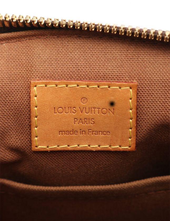 ルイヴィトン LOUIS VUITTON ハンドバッグ ティヴォリPM モノグラム 茶 M40143 PVC レザー レディース
