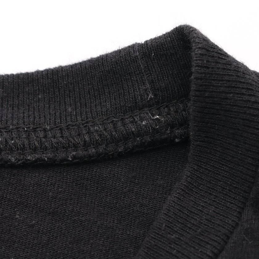 オフホワイト OFF WHITE Tシャツ カットソー マリアナ デ シルヴァ 黒 マルチカラー XL トップス 半袖 バックプリント OMAA027E19185005 コットン 19AW MARIANA DE SILVA  メンズ