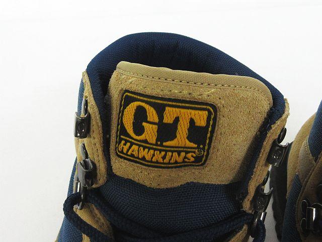 ホーキンス Hawkins G.T. ライト トレッキング ブーツ シューズ アウトドア GT9351 靴 サンド×ネイビー 5 1/2 ※KM-3961 ※01 レディース