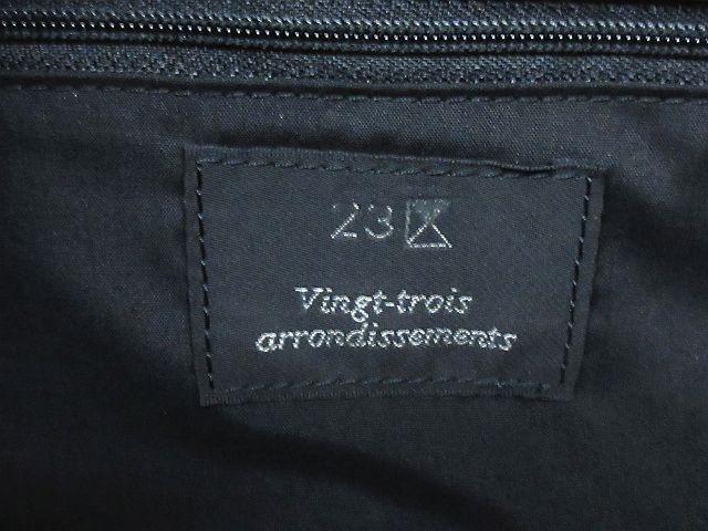 23区 オンワード樫山 かごバッグ ハンドバッグ バスケット 編み込み 鞄 黒 ※NK-19777 ※07 レディース