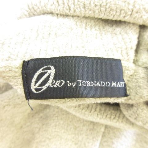 トルネードマート TORNADO MART ZERO by カットソー 長袖 タートルネック パイル地 グレー L *E903 メンズ