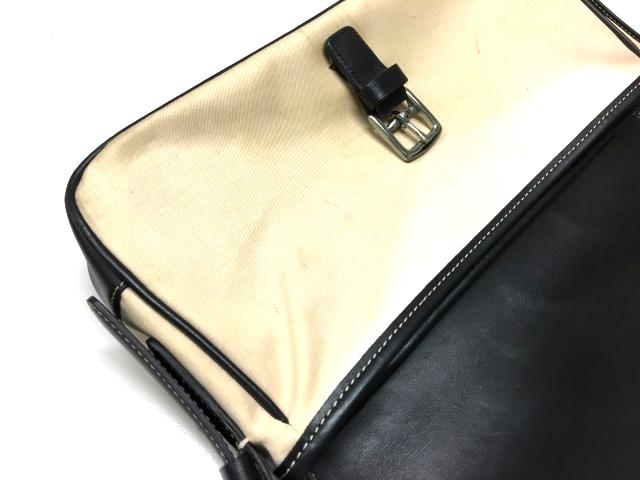 075975f6245c ... コーチ COACH キャンバス×レザー ショルダーバッグ ミニ 鞄 7702 ベージュ/ブラック 黒 SSAW レディース