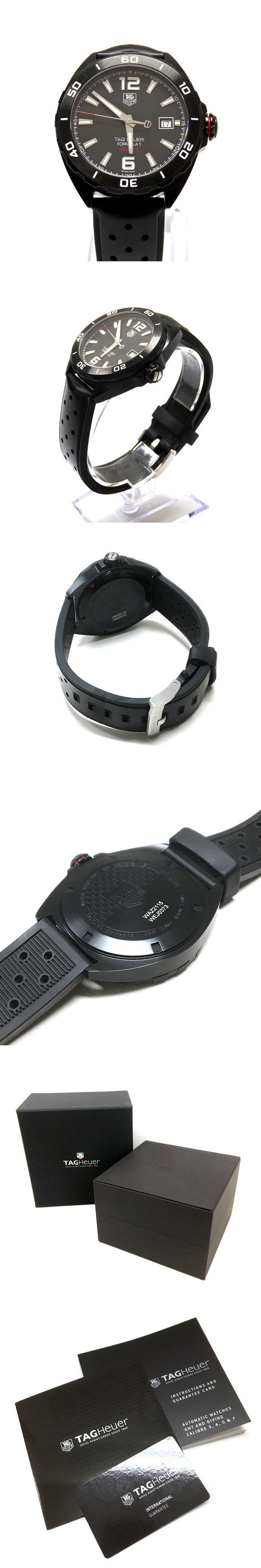 Formula 1 フォーミュラ1 キャリバー5 自動巻 腕時計 スポーツウォッチ WAZ2115.FT8023 ブラック 黒 SSAW