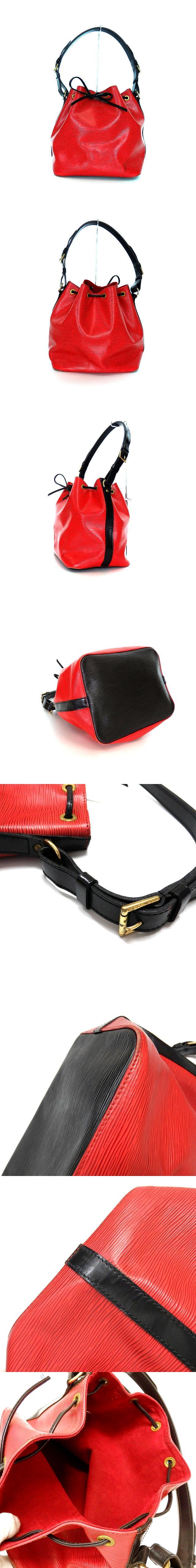 M44172 エピ プチノエ ショルダーバッグ 鞄 カスティリアンレッド/ノワール 赤 黒 SSAW