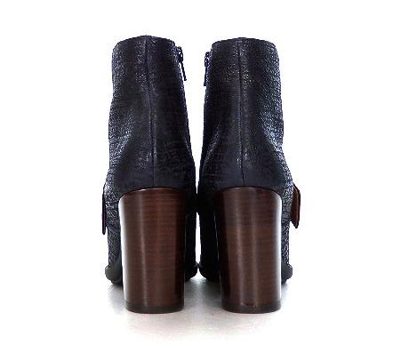 未使用品 チエミハラ CHIE MIHARA MICCA ショートブーツ ブーティ 靴 35.5 ネイビー 紺 秋冬 レディース