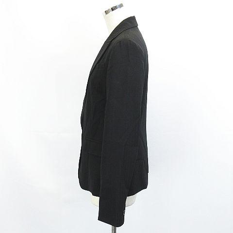 49ecf49fb9988c SUCRE ジャケット ブレザー テーラード シャドーストライプ ストレッチ 11 黒 ※秋冬 AI レディース