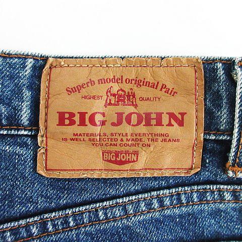 ビッグジョン Big John CY104 デニム ジーンズ ボトムス ストレート 31 インディゴブルー ※EKM メンズ