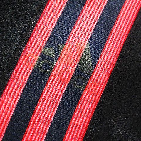 アディダス adidas ジャージ ジャケット 長袖 ジップアップ ライン ロゴ M ネイビー×ピンク スポーツウェア ※EKM メンズ