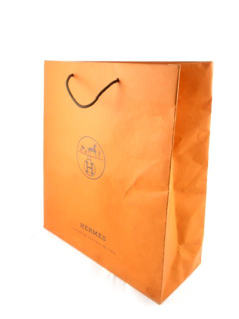 8dcc28f50cae エルメス HERMES 紙袋 ショッパー ショップ袋 純正 42cm×47cm×17cm 鞄 バッグ 大きめ その他