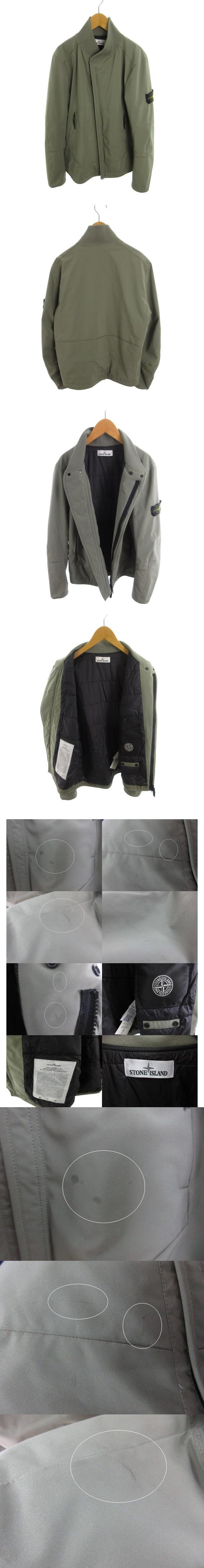 MA-1 ジャケット ブルゾン 中綿 ジップアップ カーキ M アウター 国内正規品 豊田貿易