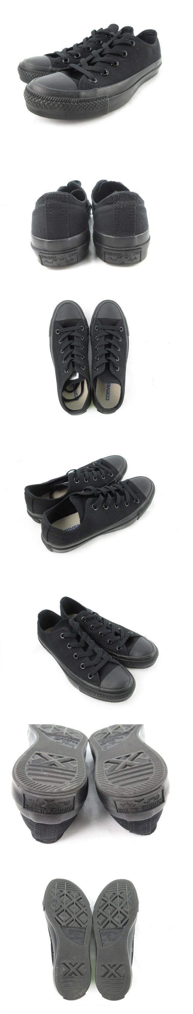スニーカー シューズ ALL STAR オールスター ローカット LOW キャンバス 黒 ブラック US4 23cm 靴 美品