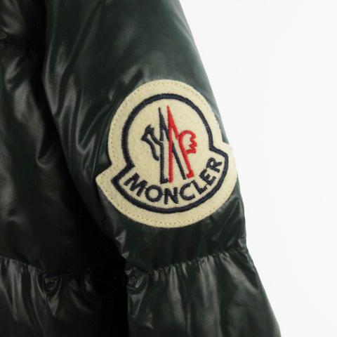 モンクレール MONCLER ダウンジャケット EVEREST エベレスト デカワッペン ナイロン 緑 グリーン 1 国内正規品 スープリームス アウター メンズ