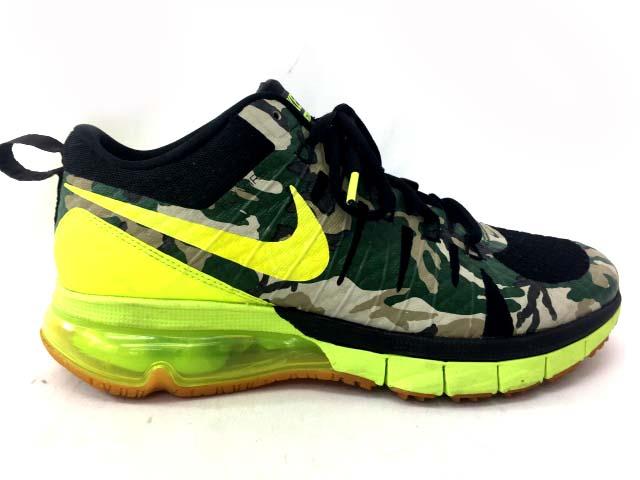 ナイキ Nike エアマックス Air Max Tr180amp スニーカー 靴 迷彩柄 26 0 グリーン 蛍光イエロー メンズ