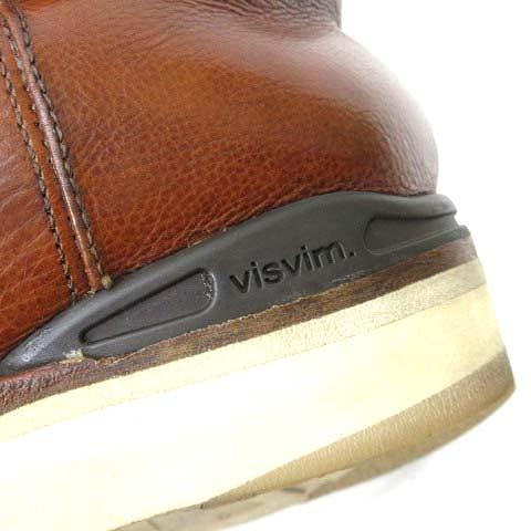 ビズビム VISVIM 希少 初期 1stモデル WABANAKI BOOTS ワバナキブーツ ペコスブーツ 茶 ブラウン US 9.5 約27.5cm メンズ