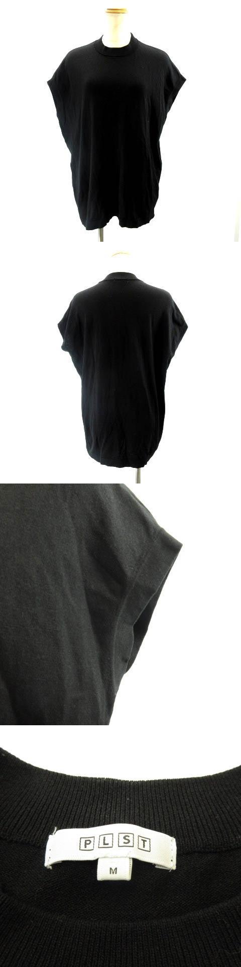 19AW サマーニット カットソー 半袖 黒 ブラック M IBS91