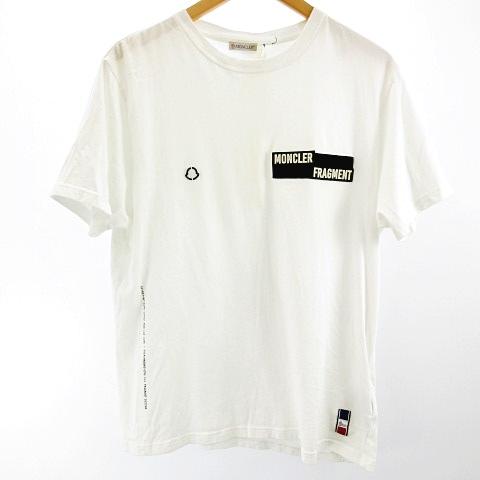 モンクレール MONCLER 19SS フラグメントデザイン fragment design MAGLIA T-SHIRT Tシャツ カットソー 半袖 M E109U8003950 8391Q 0527 メンズ
