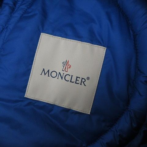 モンクレール MONCLER GENIUS ジーニアス 19SS CRAIG GREEN APEX ダウンブルゾン ダウンジャケット 青 ブルー 1 約S ECR7 メンズ