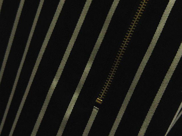 8659c407bb3fb ... ザンパ ZAMPA ストライプ ワンピース ストライプ 長袖 黒 M レディース ...