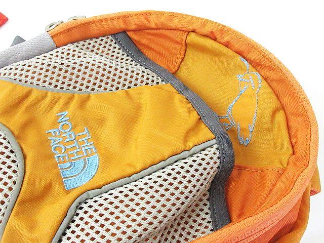 ノースフェイス THE NORTH FACE キッズ リュック バックパック RECON KS リーコン ロゴ オレンジ